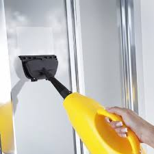 grimebuster x5 steam cleaner cleaning window